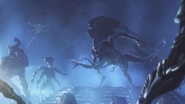 客串登場《真人快打》電玩的異形。