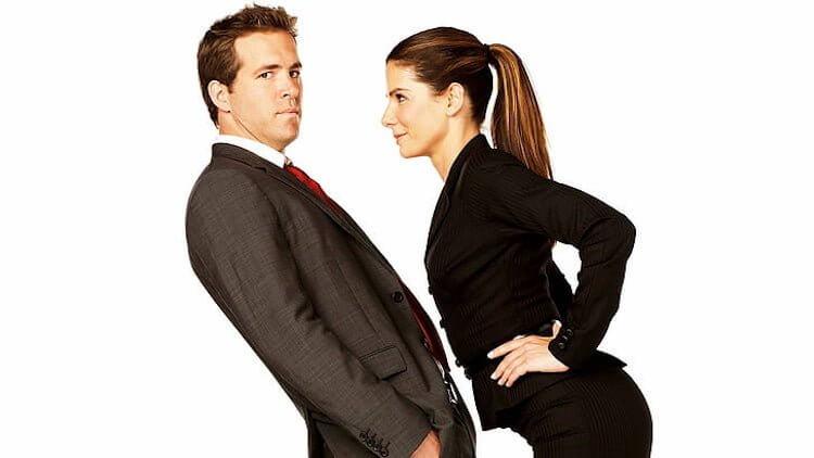 來恩雷諾斯與珊卓布拉克主演的《愛情限時簽》。
