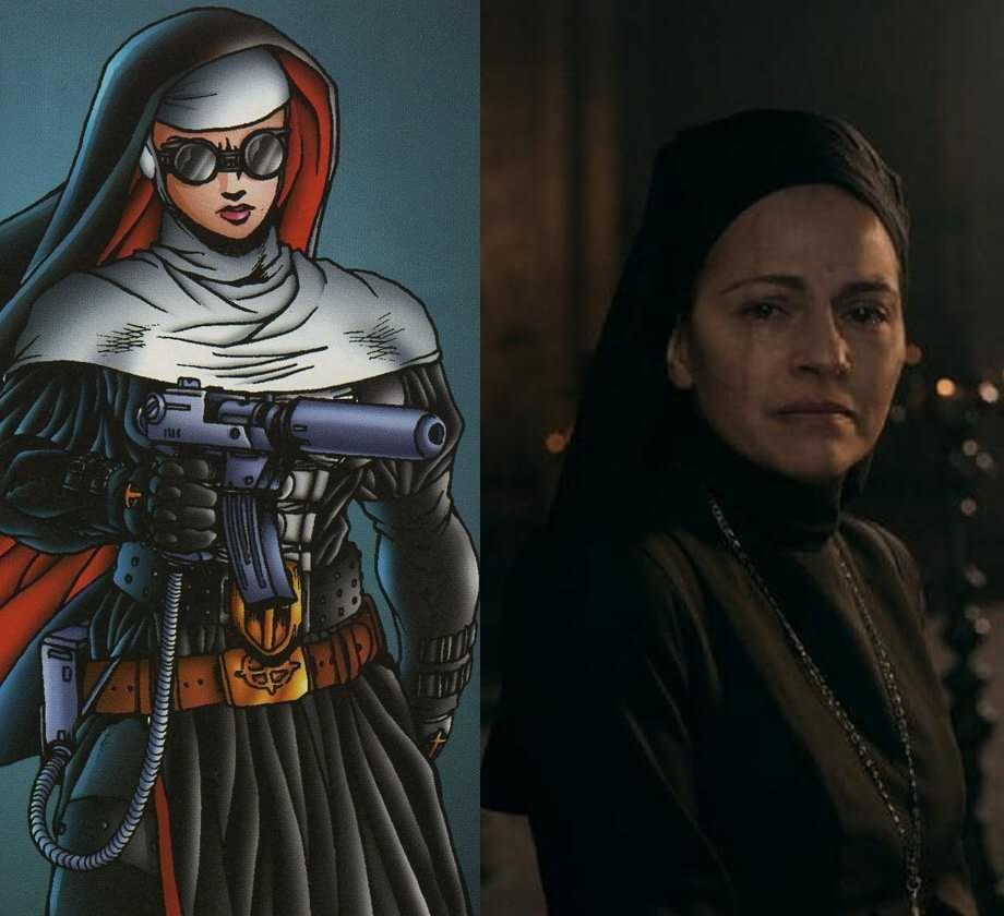 《修女戰士》。