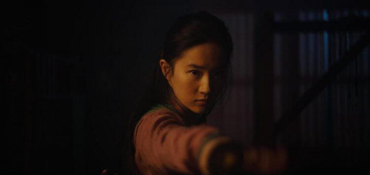 主演《花木蘭》的劉亦菲。
