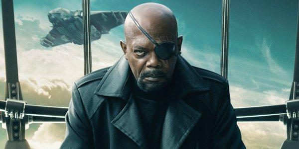漫威神盾局長尼克福瑞 (Nick Fury) 山繆傑克森 (Samuel L. Jackson)