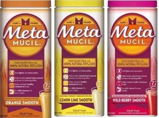 Metamucil 膳食纖維。