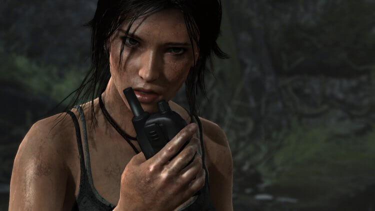 電玩《古墓奇兵》女主角蘿拉卡芙特 (Lara Croft)。