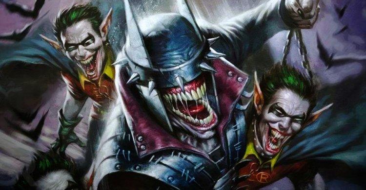 蝙蝠俠「狂笑蝙蝠」。