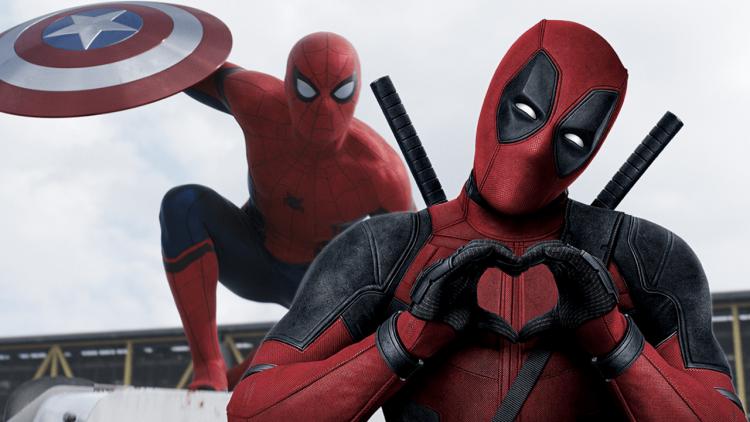 不能合體也沒關係!「死侍」萊恩雷諾斯在社群上大方告白小蜘蛛:「我愛你三千。」首圖