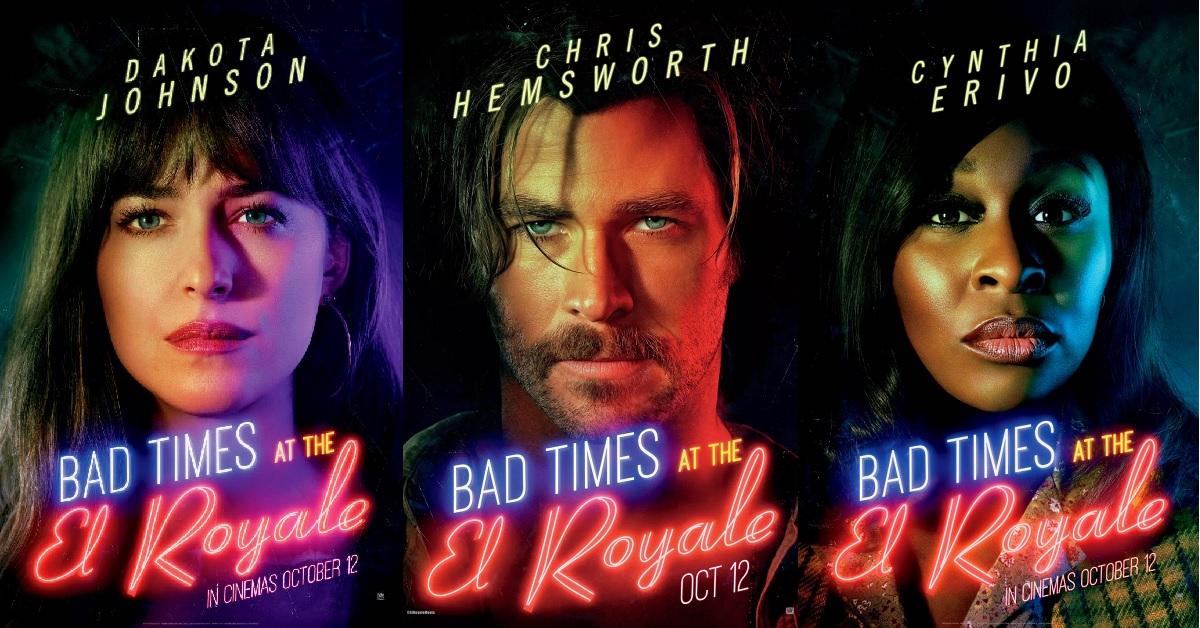 克里斯漢斯沃 《 壞事大飯店 》 海報 。