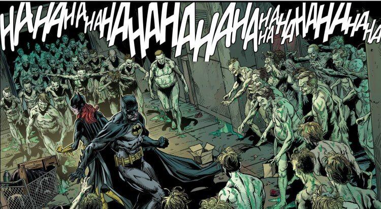 《蝙蝠俠:三個小丑》漫畫。
