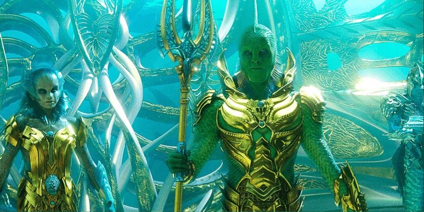 吉蒙韓蘇 在 《 水行俠 》中飾演「 漁人王 」,在《 沙贊! 》中則飾演前代沙贊。