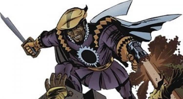 《正義聯盟》反派達克賽德的菁英 Kanto。