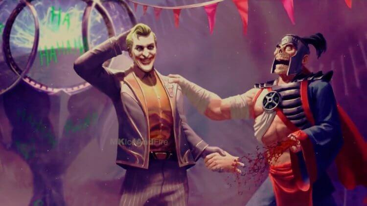 客串登場《真人快打》電玩的 DC 漫畫人物小丑。