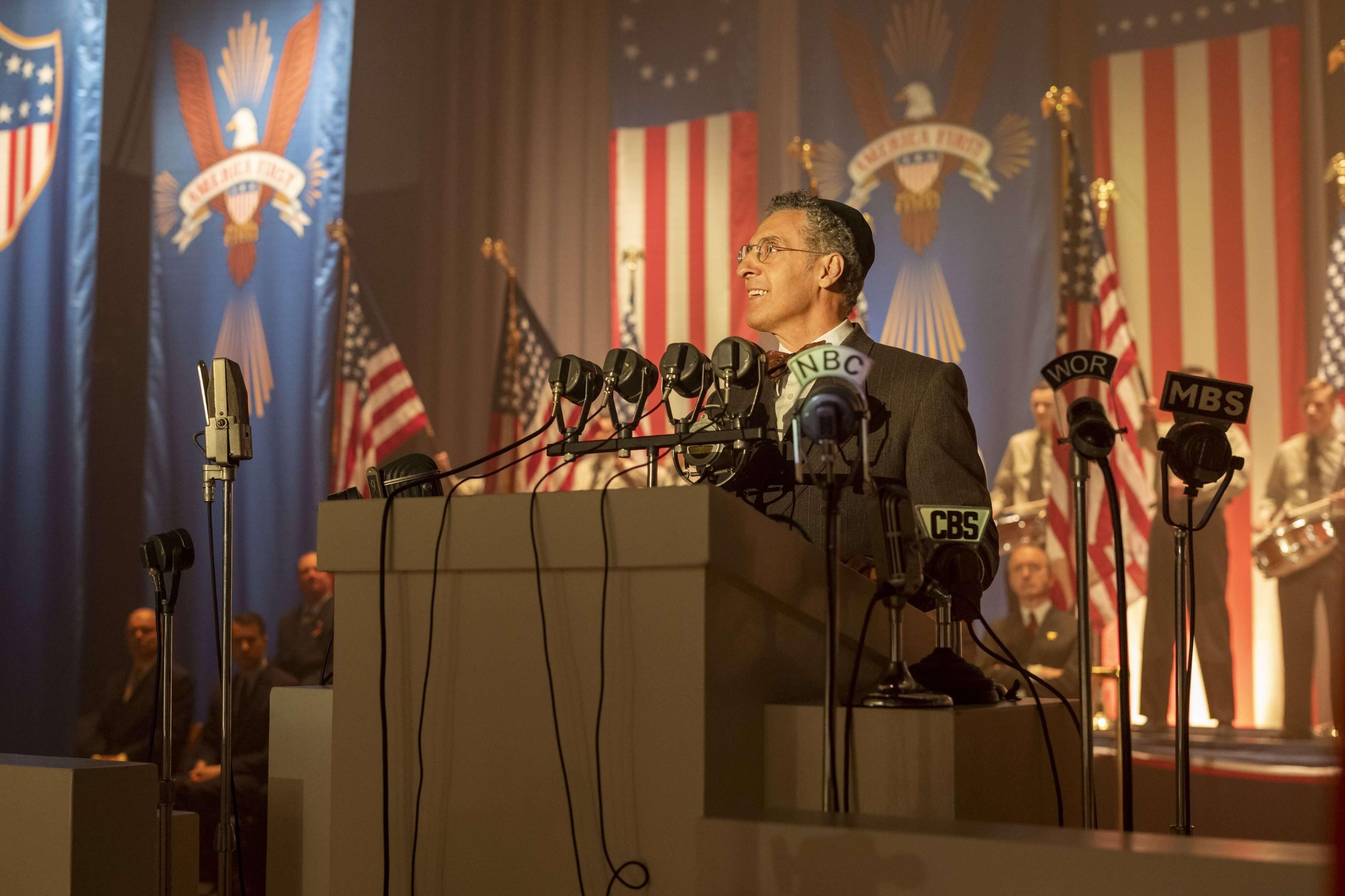 HBO《美國外史》影集劇照。