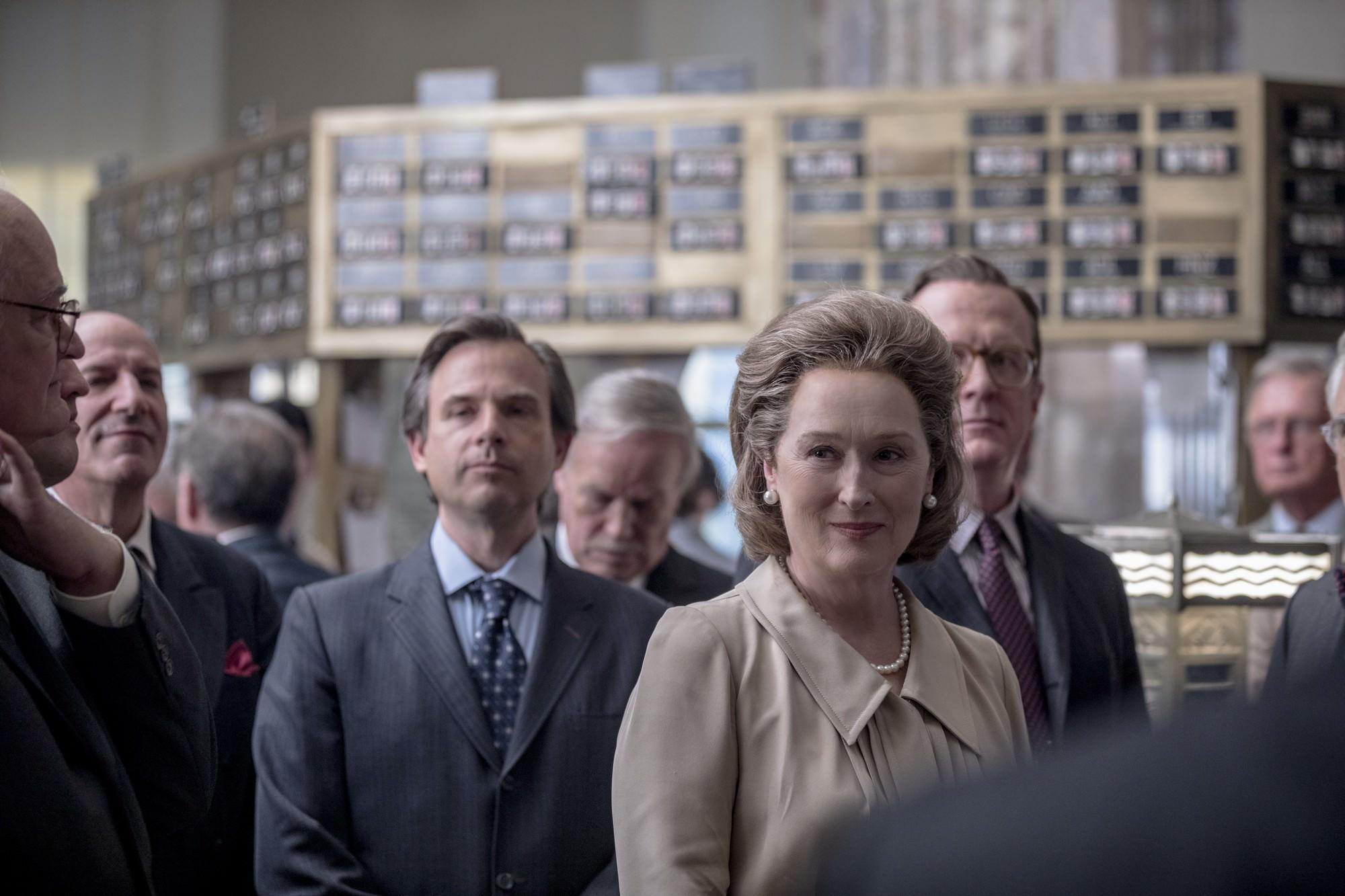 史蒂芬史匹柏 執導 電影 : 湯姆漢克斯 梅莉史翠普 合作 演出《 郵報 : 密戰 》 劇照