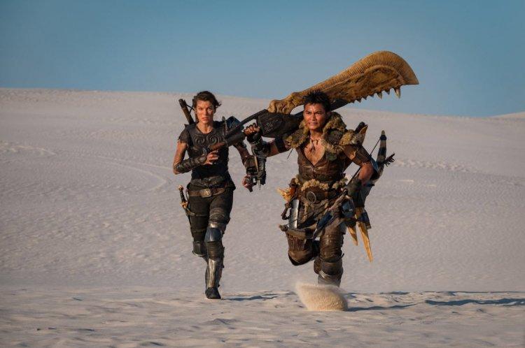 《魔物獵人》蜜拉喬娃維琪和東尼嘉。