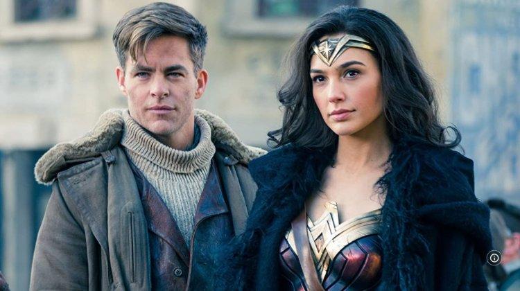 《神力女超人》克里斯潘恩、蓋兒加朵。