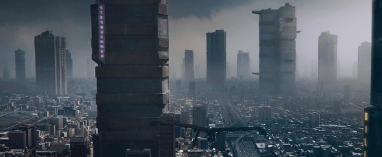 《超時空戰警》電影中的「叢群」樣貌。