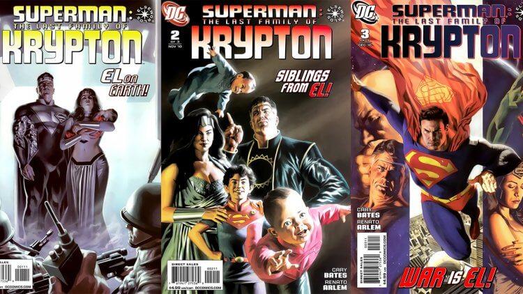 要是超人的親生父母跟他一起到地球呢?DC 漫畫《超人:最後的氪星家族》故事介紹——首圖