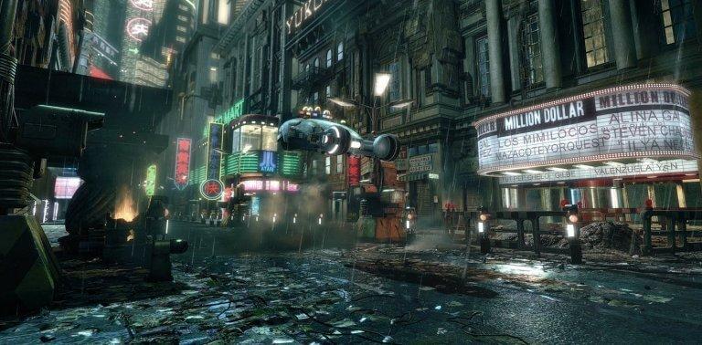 銀翼殺手 (Blade Runner) 劇中一景