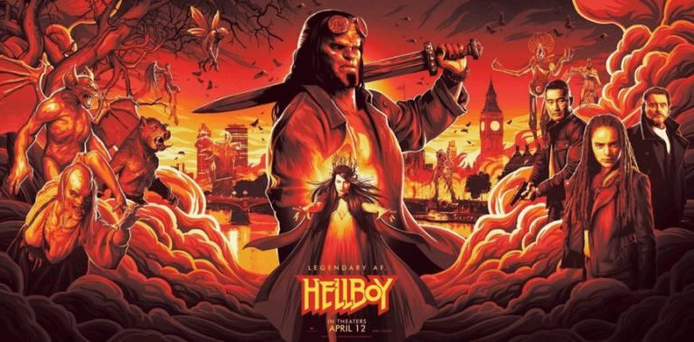 《地獄怪客:血后的崛起》(Hellboy: Rise of the Blood Queen) 電影海報