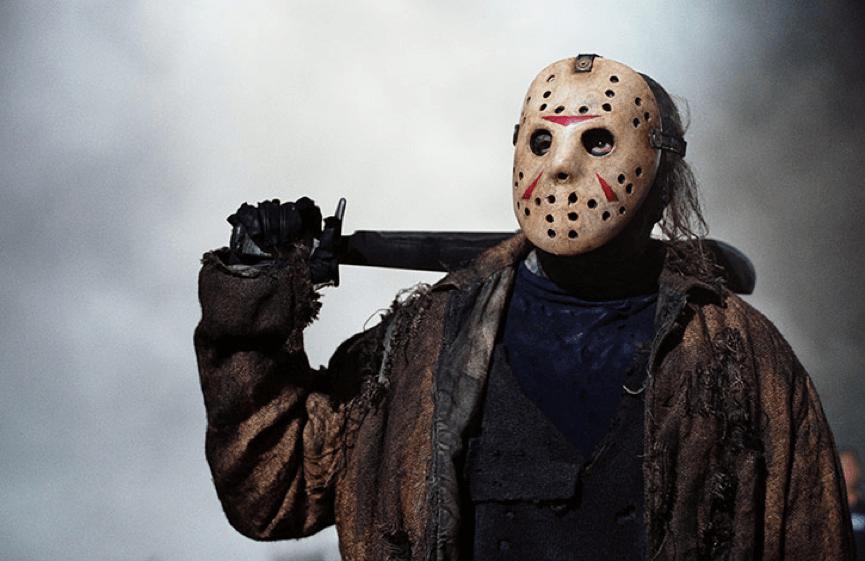 恐怖片 《 13號星期五 》 面具傑森魔 : 傑森沃爾希斯 (Jason Voorhees)。