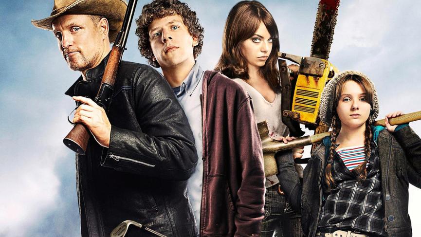 2009 年的 殭屍片 《 屍樂園 》(Zombieland)。