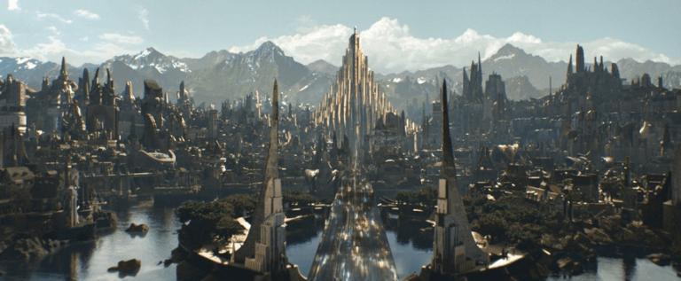 漫威電影宇宙中,超級英雄雷神索爾的故鄉——阿斯嘉。