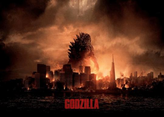 《哥吉拉》(Godzilla) 劇照。