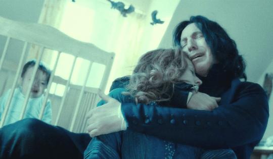 《哈利波特》系列電影用了不少閃回畫面。