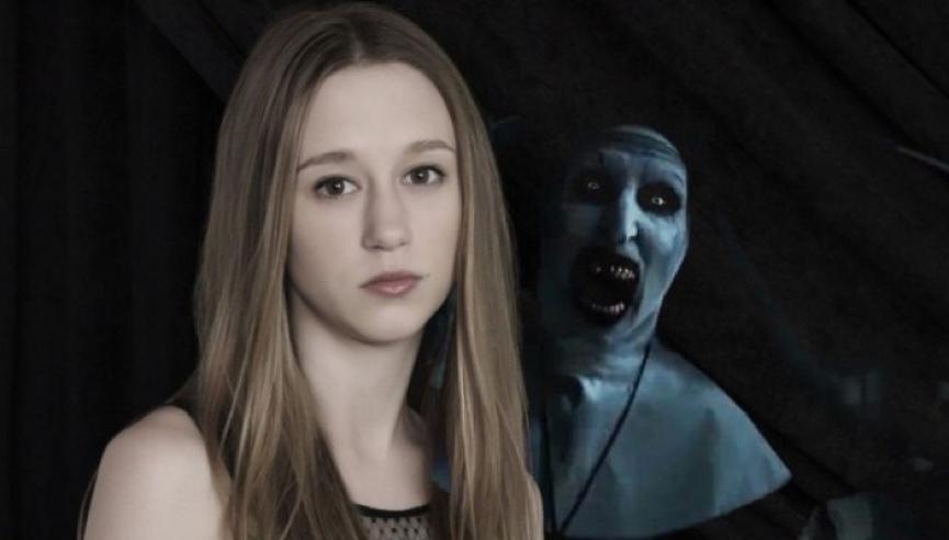 演出《 鬼修女 》的 泰莎法蜜嘉 ,儼然已是新一代恐怖小天后。