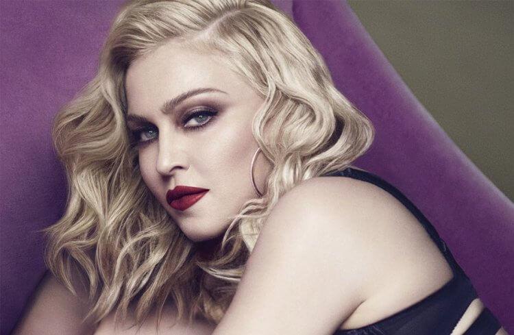 美國流行音樂天后瑪丹娜。