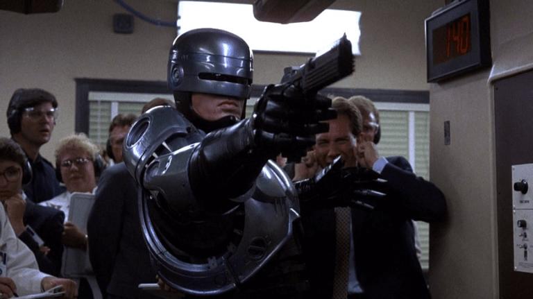 1987年《機器戰警》劇照