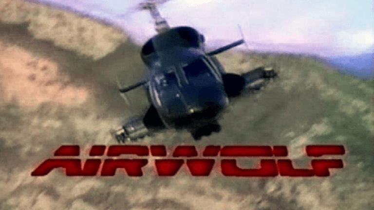 80 年代紅極一時的美劇影集《飛狼》(Airwolf)。