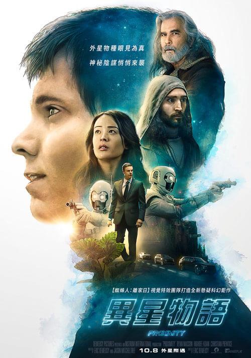 《異星物語》電影海報。