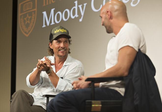 馬修麥康納 (Matthew McConaughey) 成為教授
