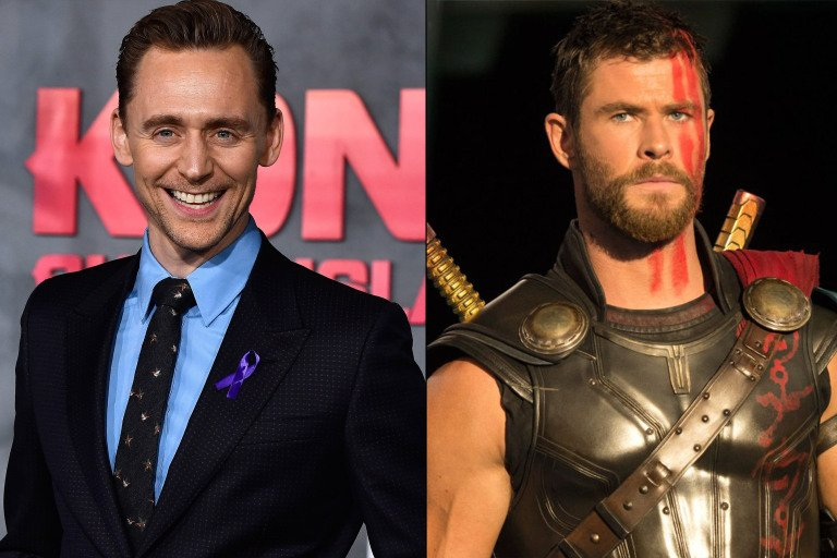 湯姆希德斯頓原本要飾演「雷神」索爾而非「惡作劇之神」洛基。