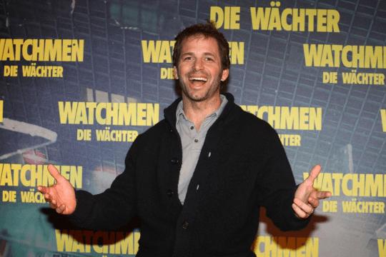 查克史奈德 (Zack Snyder) 在《守護者》宣傳活動。