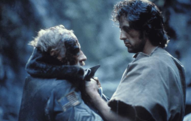 席維斯史特龍在電影中詮釋的藍波,讓《第一滴血》小說原作者也欣賞不已。