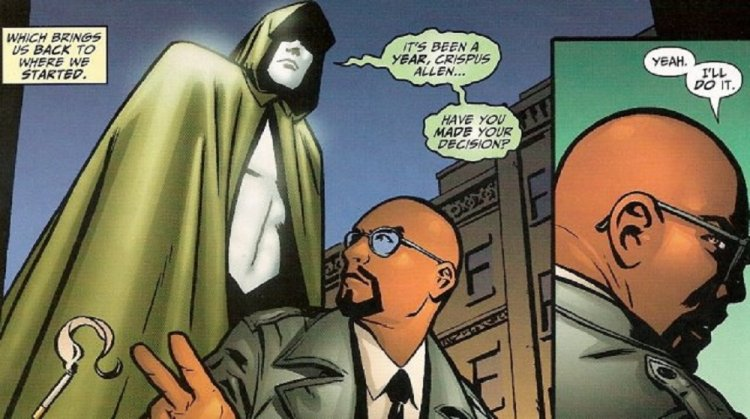 漫畫中的克里斯彭艾倫。