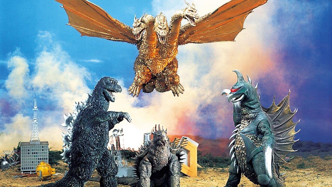 【專題】怪獸系列:《地球攻擊命令 哥吉拉對蓋剛》奇型怪獸蓋剛,華麗登場 (39)首圖