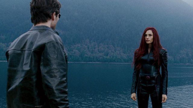 《X 戰警:最後戰役》中,獨眼龍史考特遇見應已死去的琴葛雷──