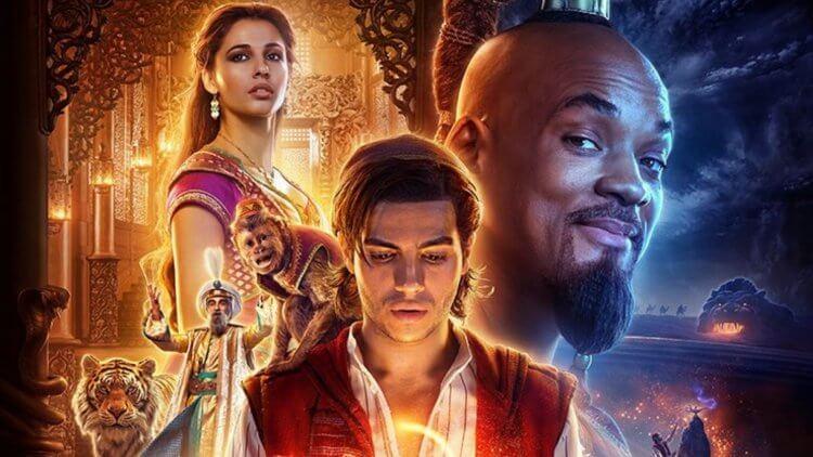 《阿拉丁》(Aladdin) 電影海報