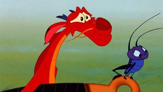 木須龍跟蟋蟀不會出現在《花木蘭》真人版電影。