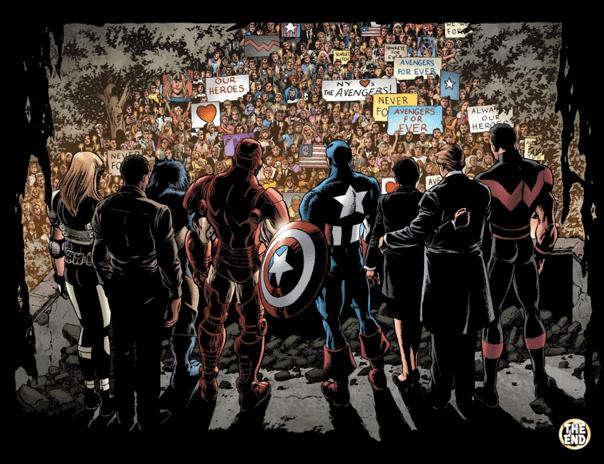 漫威漫畫中因緋紅女巫汪達失控而引起的災難,在人們的支持下讓復仇者聯盟重建信心。