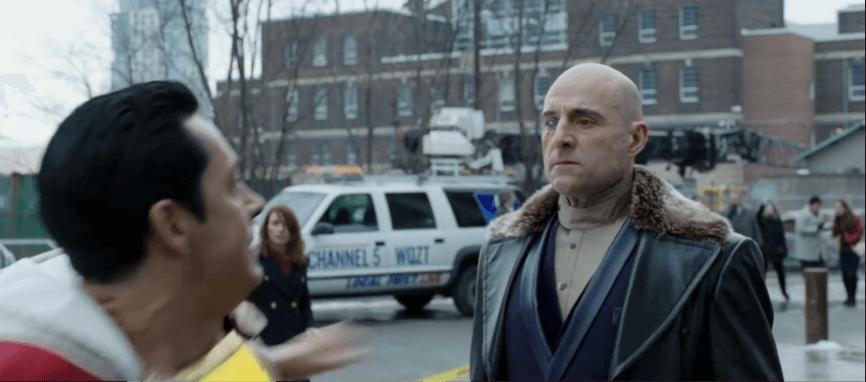 馬克史壯 在《 沙贊! 》飾演反派希瓦納博士。