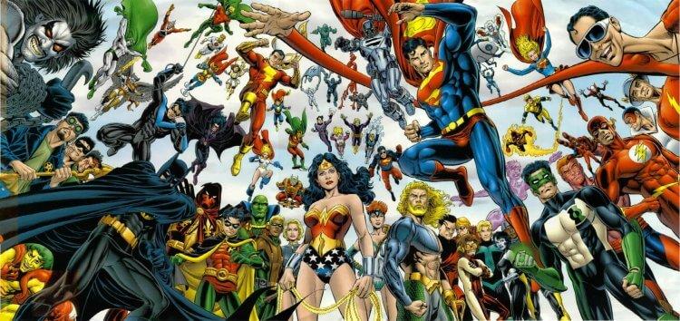 DC 宇宙。