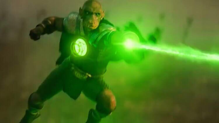 綠光戰警亞蘭戈。