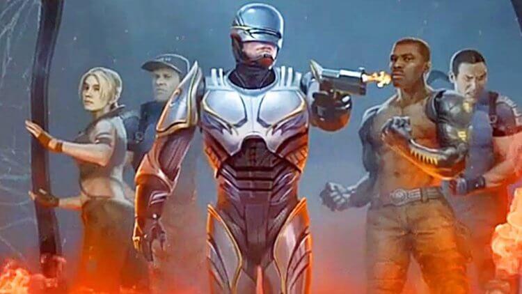 客串登場《真人快打》電玩的機器戰警。