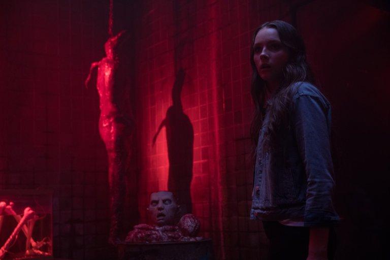 恐怖電影《嚇地獄》劇照。