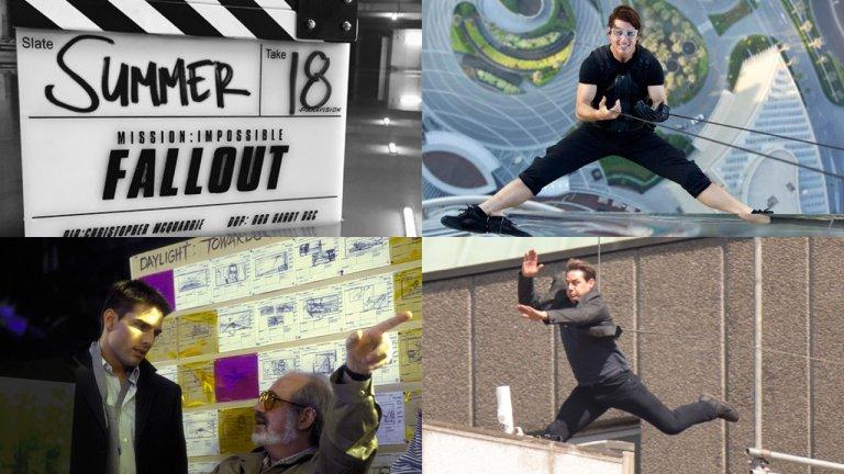 湯姆克魯斯IG公布《不可能的任務6 》片名:Mission Impossible: Fallout