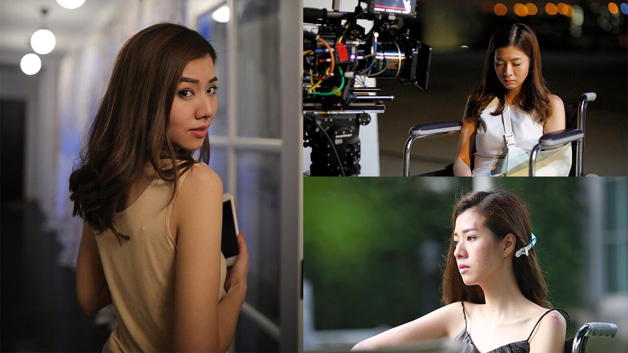 泰國氣質女神慘遭毀容鬼纏身!莫妮卡怨念變網路亂碼引恐慌