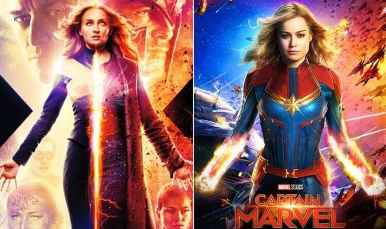 《X 戰警:黑鳳凰》與《驚奇隊長》被認為有些相似。